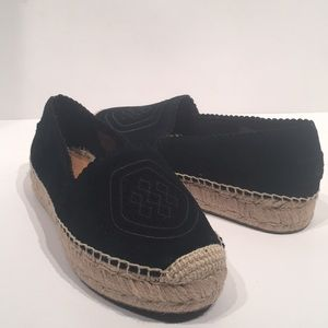 Ugg Heidi Perf Beachside Black Espadrille Shoes